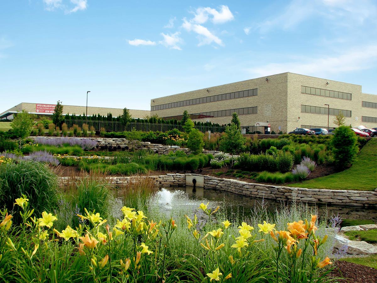 Commercial Landscaping Architect Columbus Ohio